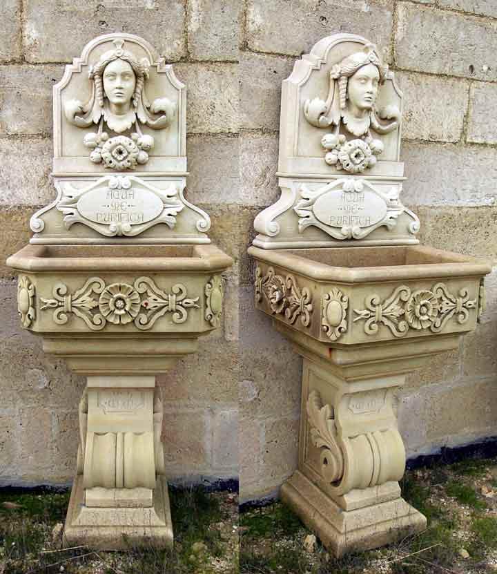 Fontane giardino - Fontane a muro da giardino ...
